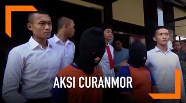 Dua pemuda di Jombang, Jawa Timur, menjadi sindikat pencurian kendaraan bermotor. Mereka mengaku belajar membuat kunci t dari tayangan di youtube.