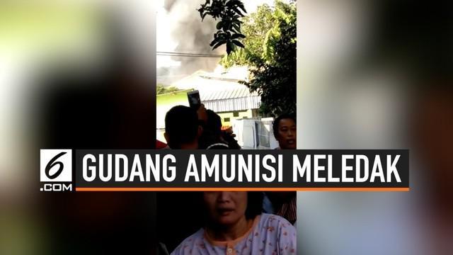 Ledakan gudang amunisi di mako Brimob Semarang melukai satu orang anggota Brimob. Korban langsung dibawa ke rumah sakit untuk dirawat.