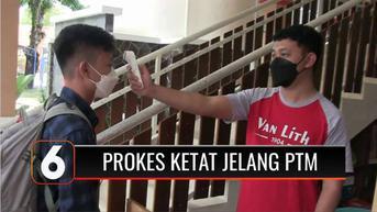 VIDEO: SLTA Pangudi Luhur Magelang Perketat Prokes Jelang PTM Tahap 2
