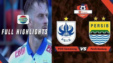 Berita video highlights Shopee Liga 1 2019 antara PSIS Semarang melawan Persib Bandung yang berakhir dengan skor 0-1, Minggu (21/7/2019).