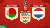 Kualifikasi Piala Dunia 2018 Belarusia Vs Belanda (Bola.com/Adreanus Titus)