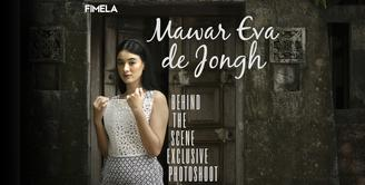 Cantiknya Mawar Eva de Jongh di Sesi Pemotretan Eksklusif Fimela