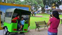 Sudut-sudut selfie seru di Kota Malang (Liputan6.com/Zainul Arifin)