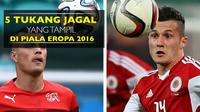 Kumpulan video mengenai aksi kasar para tukang jagal lapangan tengah seperti Radja Nainggolan, Granit Xhaka yang bermain di Piala Eropa 2016