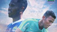Persib Bandung - Pemain Persib yang layak ke Timnas (Bola.com/Adreanus Titus)