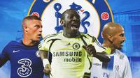 Chelsea - Ross Barkley, Shaun Wright-Phillips, Juan Sebastian Veron (Bola.com/Adreanus Titus)
