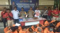Catatan akhir tahun, 6 kasus heboh di wilayah Polres Pelabuhan Tanjung Perak Surabaya. (Liputan6.com/Dian Kurniawan)