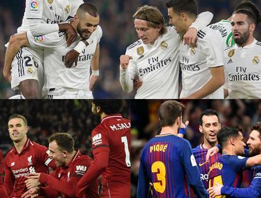 Klub Eropa dengan Pendapatan Terbesar, Real Madrid Teratas