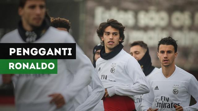 Berita video pemain muda Benfica, Joao Felix menjadi rebutan Manchester United dan Liverpool yang diprediksi akan menjadi pengganti Cristiano Ronaldo.