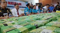 Barang bukti narkotika jenis sabu yang pernah disita BNN di Provinsi Riau. (Liputan6.com/M Syukur)