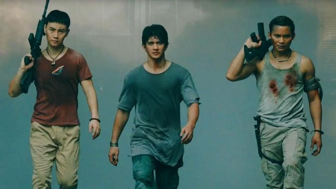 Aksi Iko Uwais dalam Triple Threat Sudah Tiba di Bioskop - ShowBiz Liputan6.com