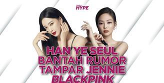 Han Ye Seul Angkat Bicara Soal Rumor Tampar Jennie BLACKPINK