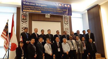 Indonesia menggelar pertemuan Marine Electronic Highway (MEH) Working Group Intersessional.