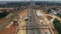 PT Marga Trans Nusantara (MTN) akan memasang 13 steel box girder yang melintas di atas ruas tol Pondok Aren-Serpong. Dok Jasa Marga