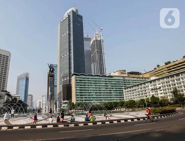Hari Raya Idul Fitri 2021, Jakarta Lengang