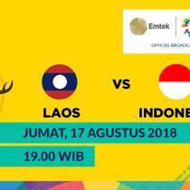 Jadwal sepak bola putra Asian Games 2018, Laos vs Indonesia. (Bola.com/Dody Iryawan)