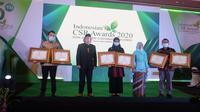 Indonesian CSR Awards 2020 di Hotel JS Luwansa, Jakarta.