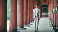 Lee Min Ho sebagai Duta Pariwisata dalam foto yang diambil untuk mempromosikan Korea Selatan [Foto: Korea Star Daily]
