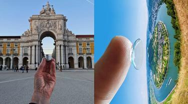 Mengecoh Mata, 6 Foto Ilusi Optik Ini Bikin Mikir Dua Kali