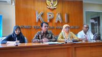 """Konferensi pers """"Susu Kental Manis"""" Komisi Perlindungan Anak Indonesia (KPAI) di Kantor KPAI, Jakarta, Rabu, 11 Juli 2018. (Liputan6.com/Fitri Haryanti Harsono)"""