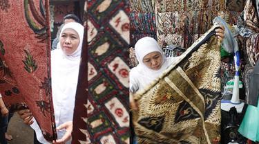 6 Potret Gubernur Khofifah Kenakan Baju Batik di Berbagai Kegiatan, Sederhana dan Simpel