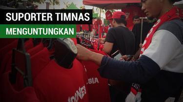 Berita video kehadiran suporter Timnas Indonesia U-22 di SEA Games 2017 ternyata membawa berkah bagi orang lain.