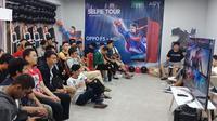 Keseruan Grand Final turnamen Oppo F5 x AoV di Manado Town Square. Liputan6.com/Jeko Iqbal Reza