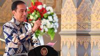 Presiden Jokowi Jawab Hashtag #ApaKataPresiden di Jember Fashion Carnaval
