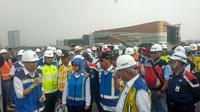 Menteri PUPR Basuki Hadimuljono menargetkan, Jalan Tol Jakarta-Cikampek (Japek) II Elevated atau Tol Layang Jakarta-Cikampek II bisa mulai beroperasi penuh pada November 2019.