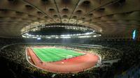 Stadion NSK Olimpiyskyi bakal menjadi tuan rumah final Liga Champions 2018. (UEFA).