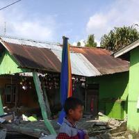 Gempa mengguncang wilayah Donggala, Sulawesi Tengah (foto: BNPB)
