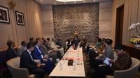 Sejumlah pengusaha ternama Maroko mengunjungi Indonesia dalam rangka  Trade Expo Indonesia ke-32. (Dokumentasi Kedutaan Maroko)
