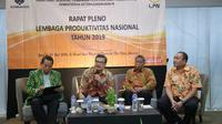 Rapat Pleno Lembaga Produktivitas Nasional (LPN) Tahun 2019.