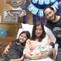 Ini cerita perjuangan, Istri Uki NOAH melahirkan  Anak Ketiga