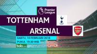 Premier League_Tottenham Hotspur Vs Arsenal (Bola.com/Adreanus Titus)
