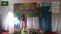 Salah satu peserta putri lomba dai muda Nusantara di PCNU Garut (Liputan6.com/Jayadi Supriadin)