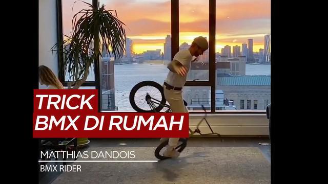Berita Video Karantina Akibat Virus Corona, Rider BMX ini Tetap Kreatif
