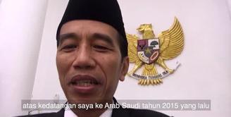 Seperti apa keseruan Raja Salman dan Jokowi di vlog yang diupload Presiden Indonesia ini?