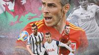 Ilustrasi - Gareth Bale, Tottenham Hotspur, Manchester United, Juventus (Bola.com/Adreanus Titus)