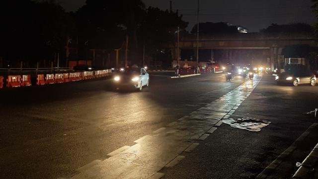 Mati Lampu Begini Suasana Jakarta Malam Hari News