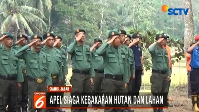 Tim gabungan ini juga bertugas untuk patroli ke kawasan hutan secara intensif.