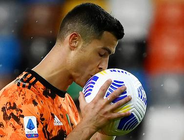 FOTO: Cristiano Ronaldo Jadi Penyelamat, Juventus Menang Dramatis Atas Udinese