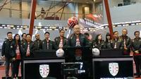 Tercatat di BEI, Bali United jadi klub sepak bola Indonesia pertama yang go public. (Istimewa)