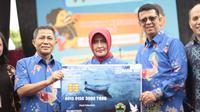 PT. Bank Rakyat Indonesia (Persero) Tbk menjalin kerjasama dengan Pemerintah Provinsi Jawa Tengah meluncurkanKartu Nelayan Jawa Tengah di Lapangan Drh. Supardi Mungkid, Magelang, Jawa Tengah (1/12).