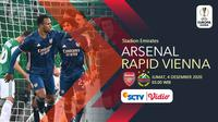 Arsenal vs Rapid Vienna(Liputan6.com/Abdillah)