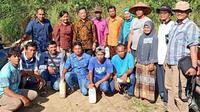 Kegiatan Bimbingan Teknis tentang Pengenalan dan Penanganan OPT Tanaman Kopi di Desa Sampean, Kecamatan Sipirok, Kabupaten Tapanuli Selatan.