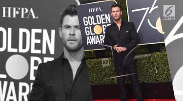 Sederet selebritas tampan Hollywood menghadiri Golden Globes 2018