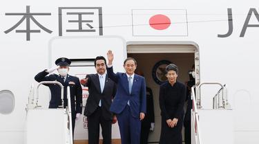 PM Jepang Yoshihide Suga dan istrinya, Mariko Suga, berkunjung ke Vietnam dan Indonesia.
