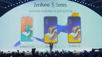 Zenfone 5 resmi diumumkan di MWC 2018. Liputan6.com/ Pebrianto Eko Wicaksono