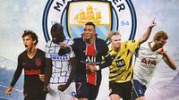 Manchester City - 5 Pemain Kandidat Pengganti Sergio Aguero (Bola.com/Adreanus Titus)